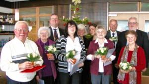 Jubilarehrung von SPD und AWO 2015