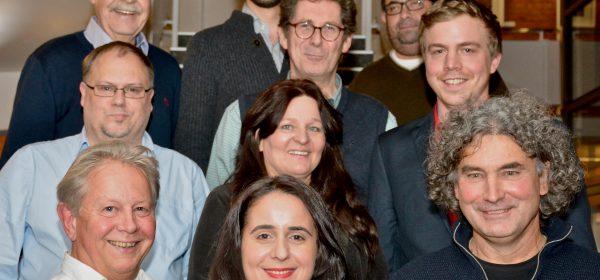 10 der 11 Kandidierenden der SPD für den Beirat Neustadt